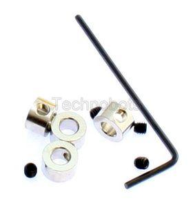 Zinc Collets 4mm pk/4