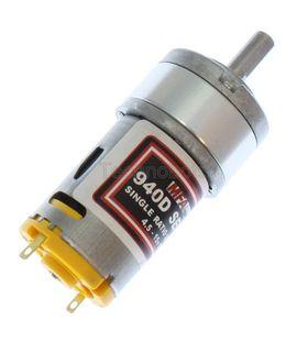 940D51LN Low Noise High Torque Planetary Geared Motor 5:1