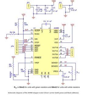 A4988 Stepper Driver Schematic