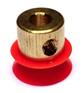 Brass hubbed plastic 12mm pulley