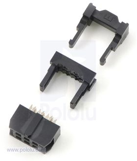 IDC Cable Socket 2x3