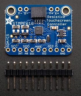 Adafruit Resistive touch Screen Controller Breakout Board