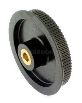 MXL025 Plastic Timing Pulley 80 Teeth Brass Ins