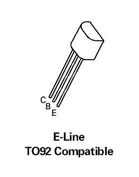 ZTX450 NPN 45V 1A Transistor