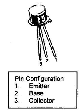 2N3053 NPN Audio Transistor
