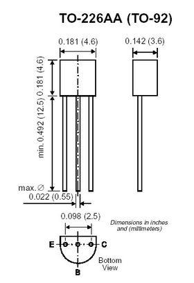 2N4403 Low Frequency Amplifier Transistor