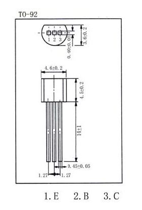 ZTX558 PNP Transistor
