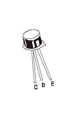 BC177 TO18 45V PNP Transistor