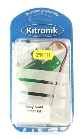Kitronik Easy Build Timer Kit (Retail Version)