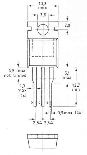 BD677 Darlington 8A 80V Audio Transistor