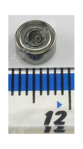 Miniature Model Bearing 692ZZ 2X6X3