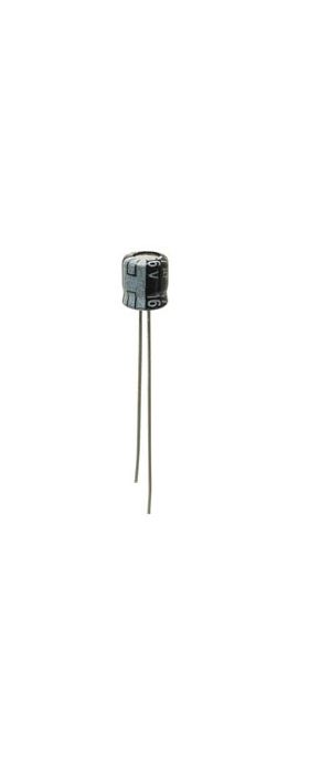 2.2uF 50V 5mm Microminiature Electrolytic Capacitor