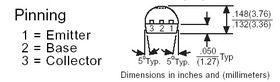 2N4401 Transistor NPN TO-92 40V