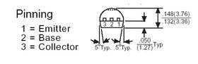 2N3904 Transistor NPN TO-92 60V